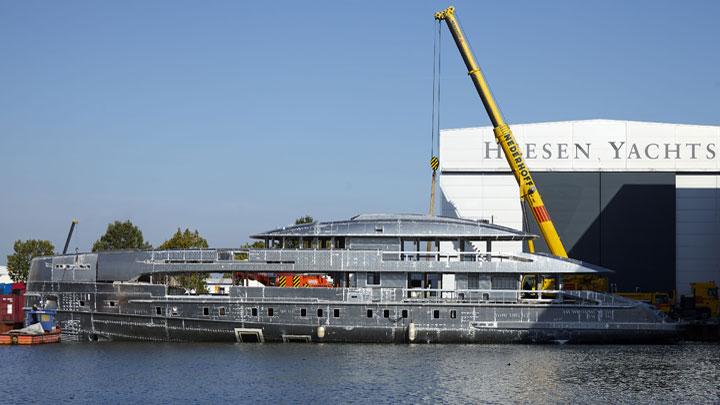 Project Boreas megayacht