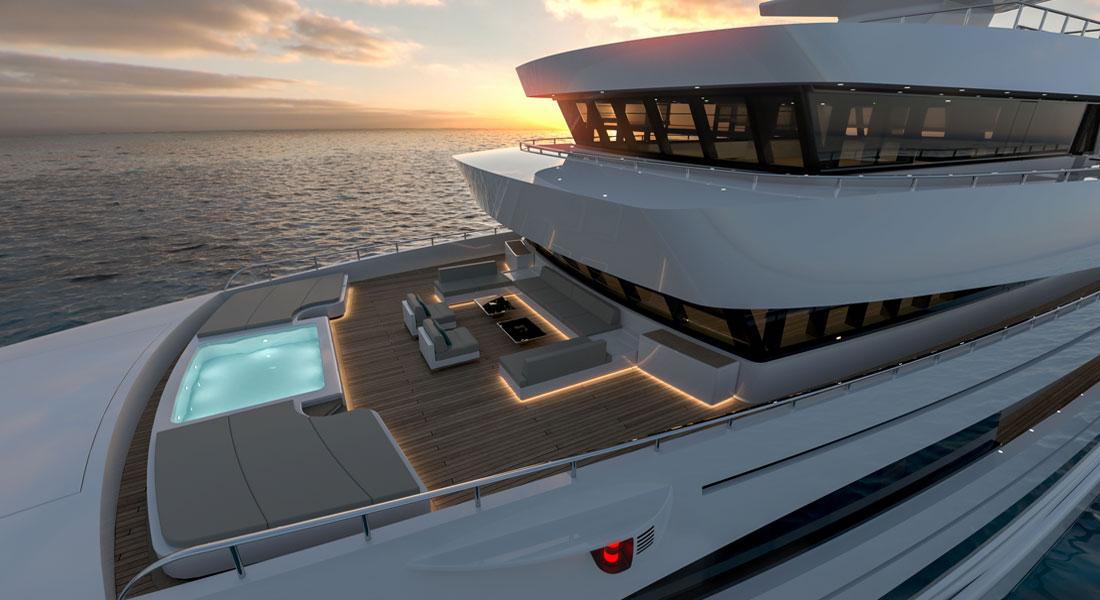 Rosetti Superyachts Rosetti 85M expedition supply vessel megayacht