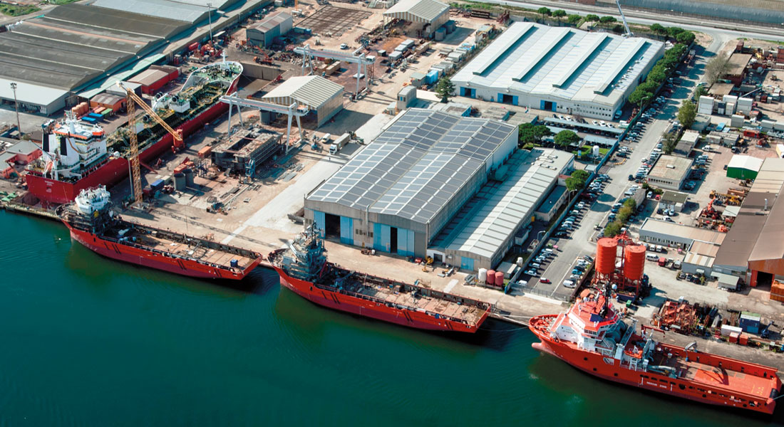 Rosetti Superyachts Rosetti Marino San Vitale shipyard for megayachts