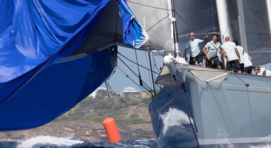 Danneskjold in Superyacht Challenge Antigua