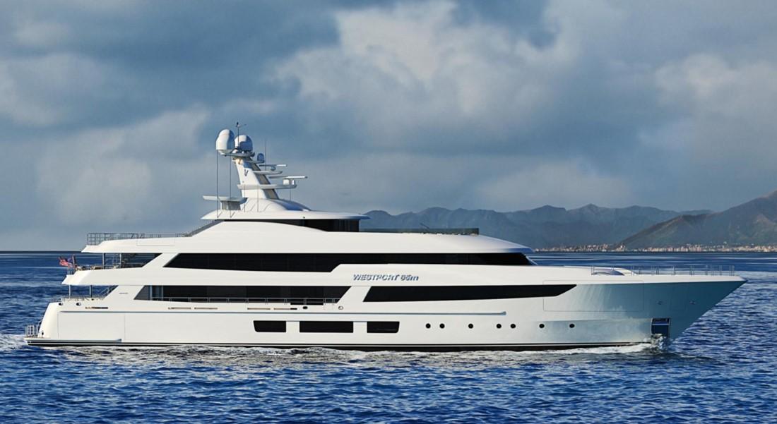 Westport W65 megayacht