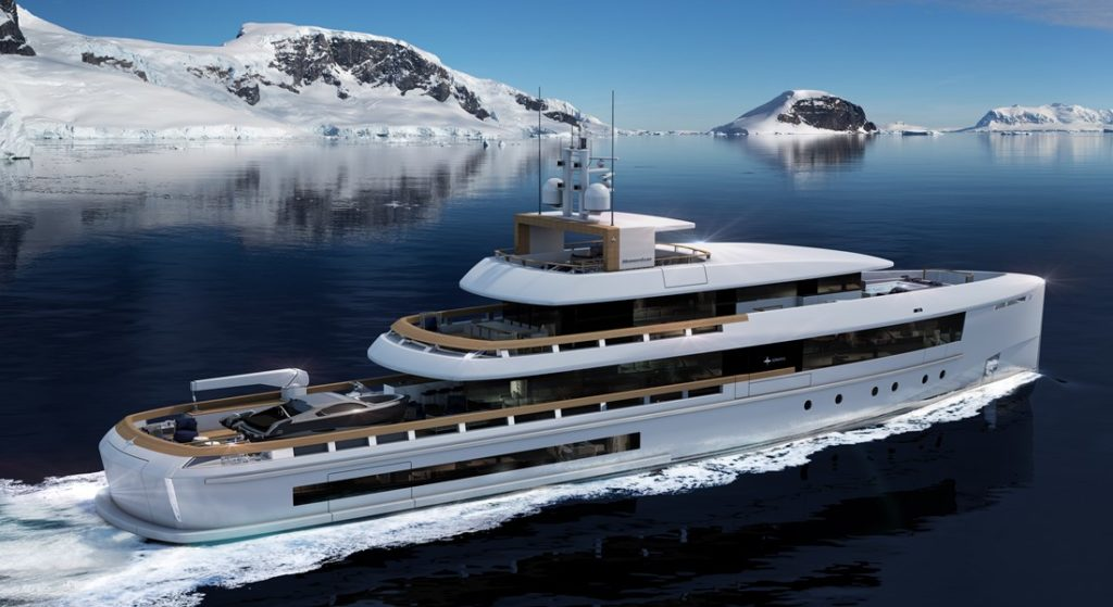 Momentum Series megayachts Admiral brand The Italian Sea Group