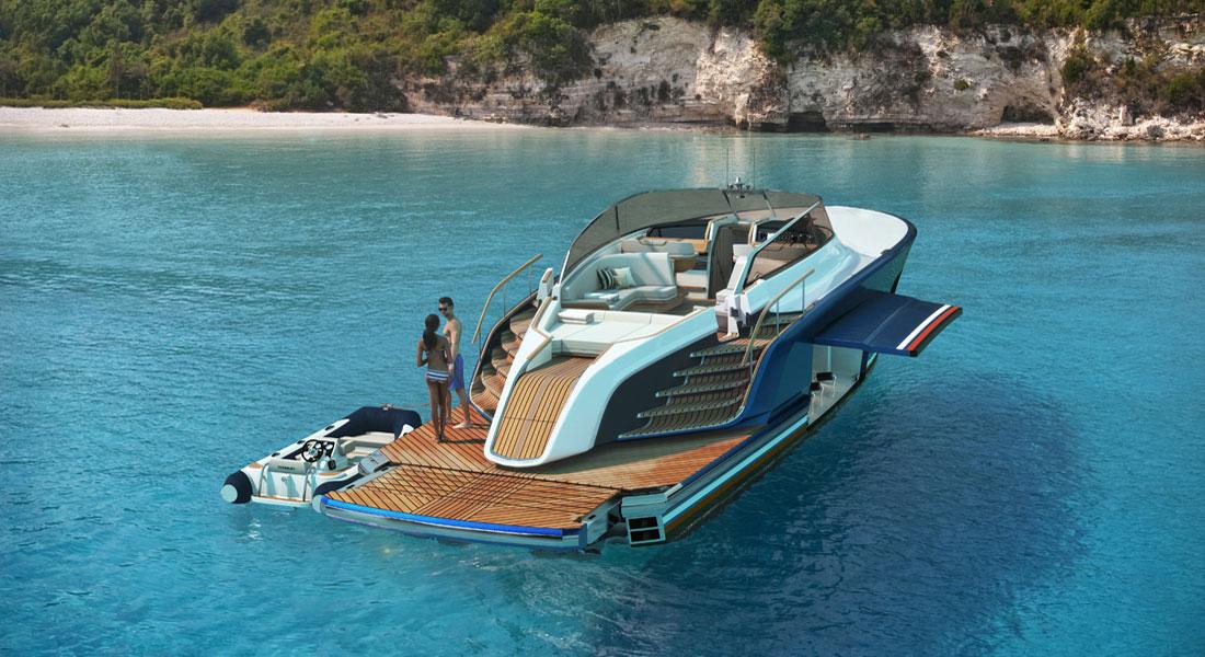 Aeroboat S6 superyacht toys