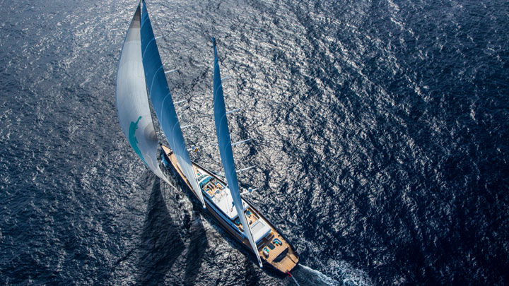 built by Vitters Shipyard and Oceanco, Aquijo superyacht exotic charter vacations