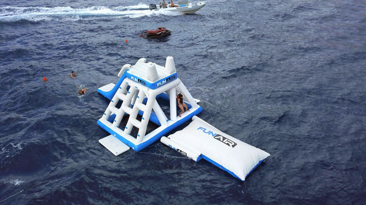 FunAir Playground superyacht toys