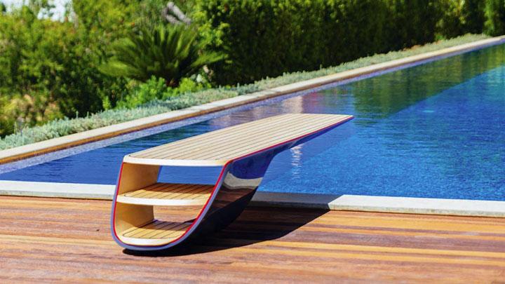 Gracie Bird diving board superyacht toy