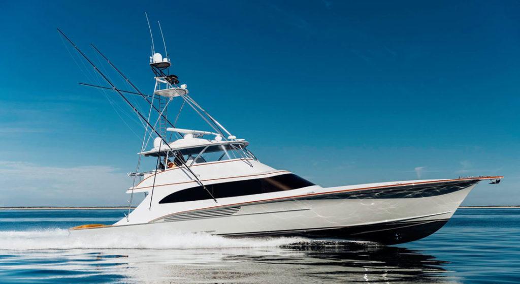 Jarrett Bay Boatworks the build of Jaruco megayacht sportfish