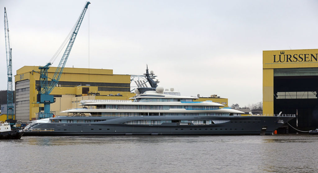 Project Shu: New Views at Lürssen - Megayacht News