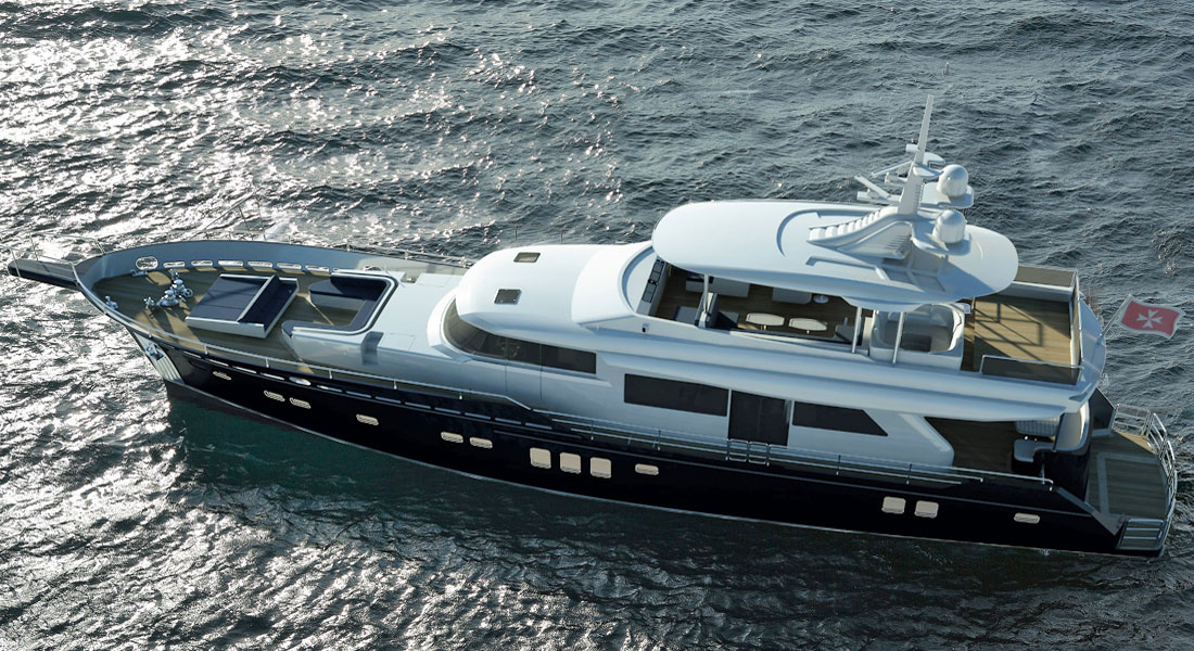 Natalya 86 superyacht from AvA Yachts