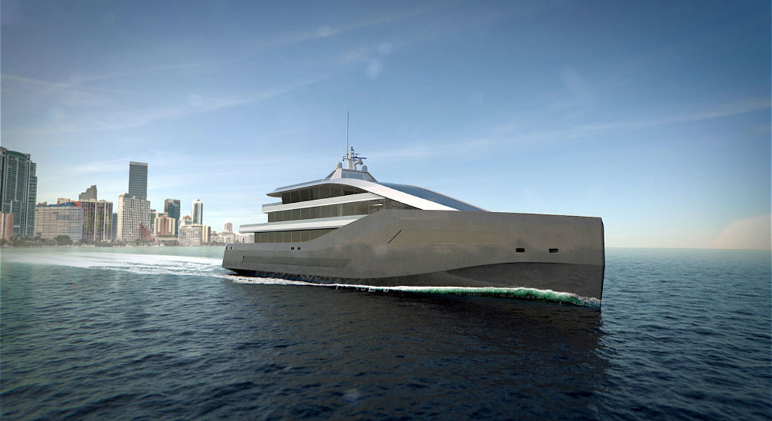Rolls Royce LNG superyacht concepts