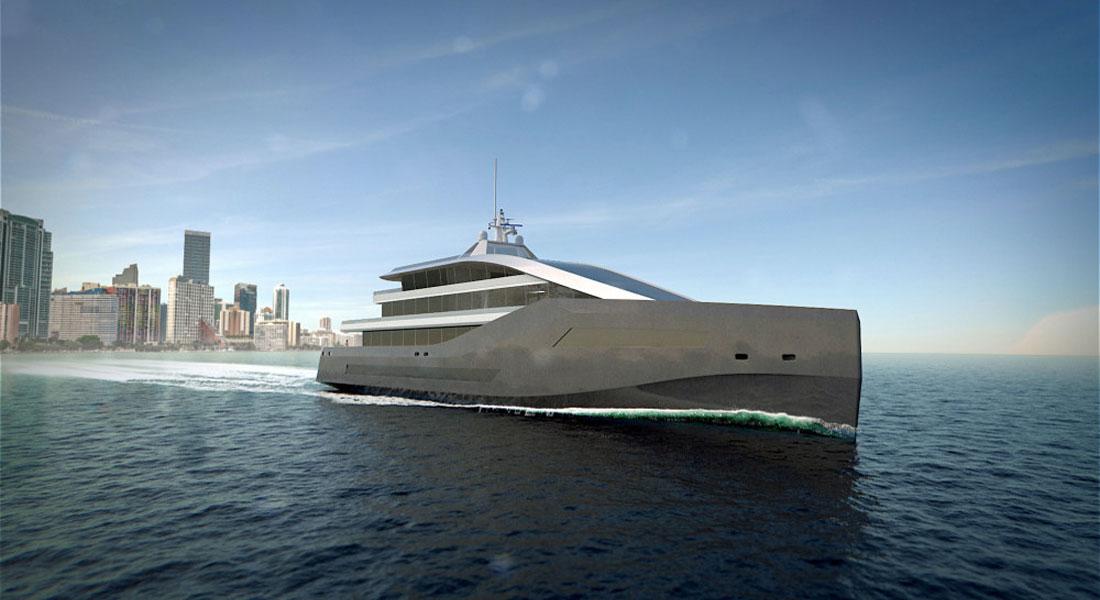 Rolls Royce LNG superyacht concepts