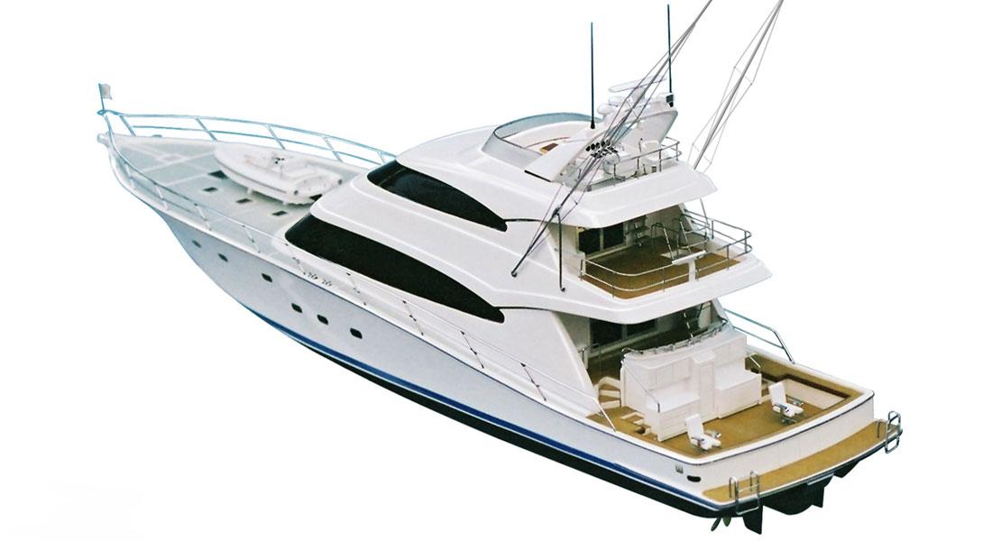Yachting Developments hull 1017 megayacht sportfisherman