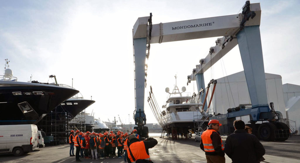 Mondomarine Palumbo Group Palumbo Superyachts Refit takeover megayacht operations