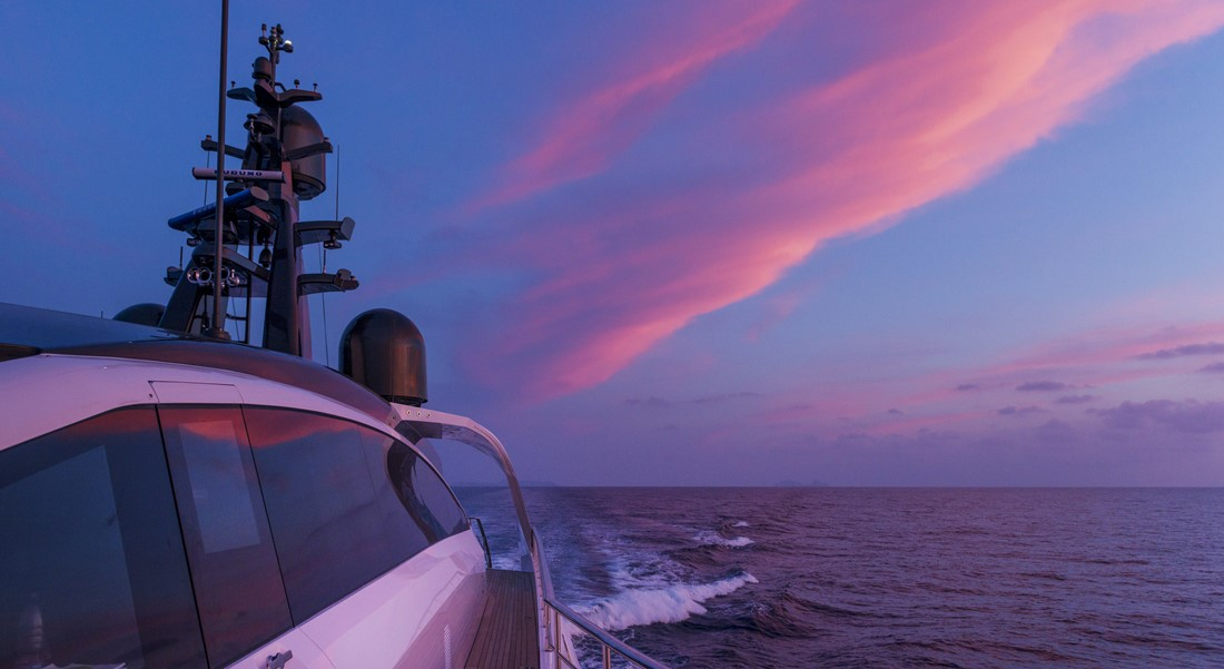 Megayacht News Onboard: Aurora, by Rossinavi