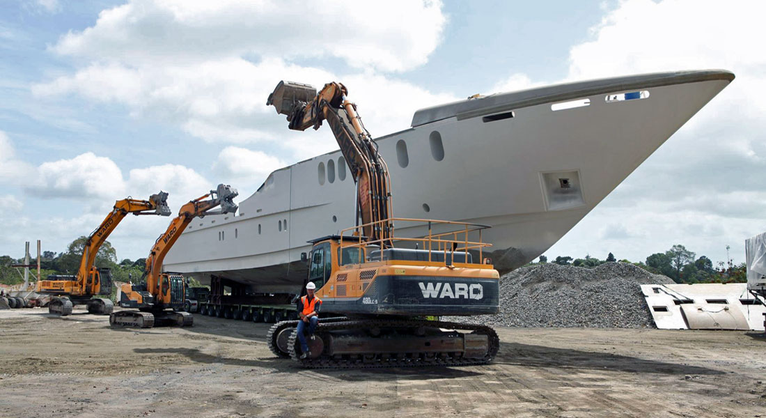 Last Sensation Yachts Superyacht Up For Salvage Megayacht News