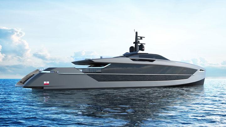 Tankoa Yachts S533 Saetta megayacht