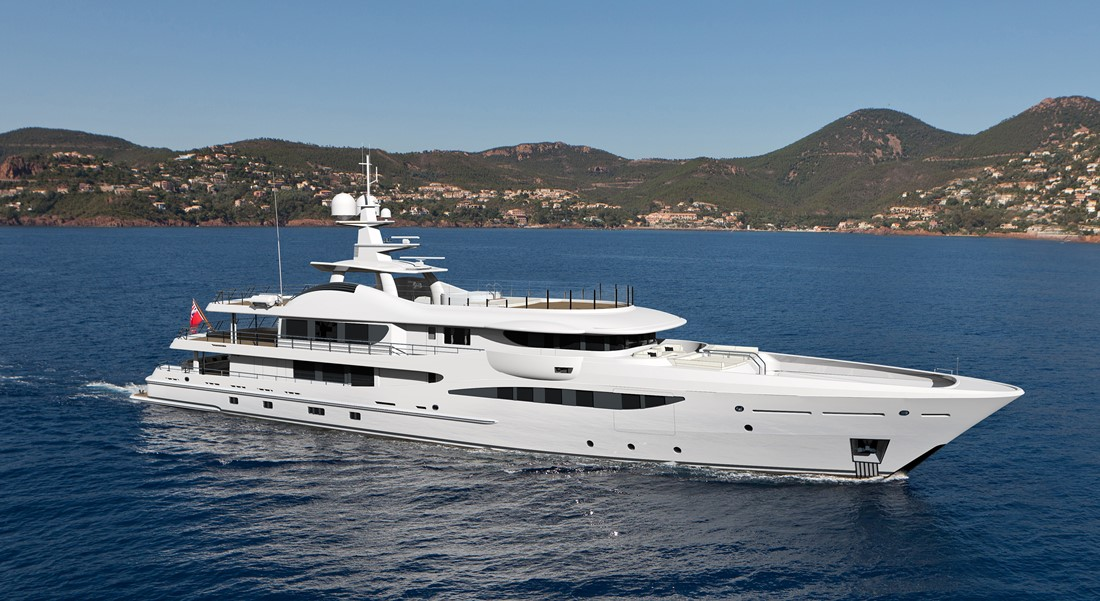 Amels 180 Limited Editions megayacht sister to Eji