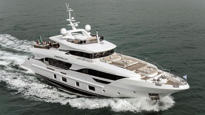 Christella II Benetti Delfino 95 megayacht small superyacht world premieres