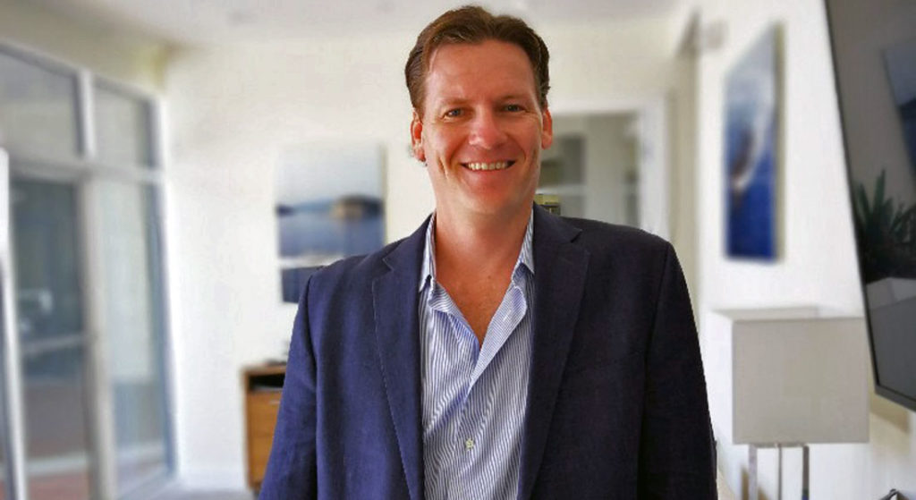 Grant Colin Henderson sales manager for the Americas for Baglietto CCN megayachts