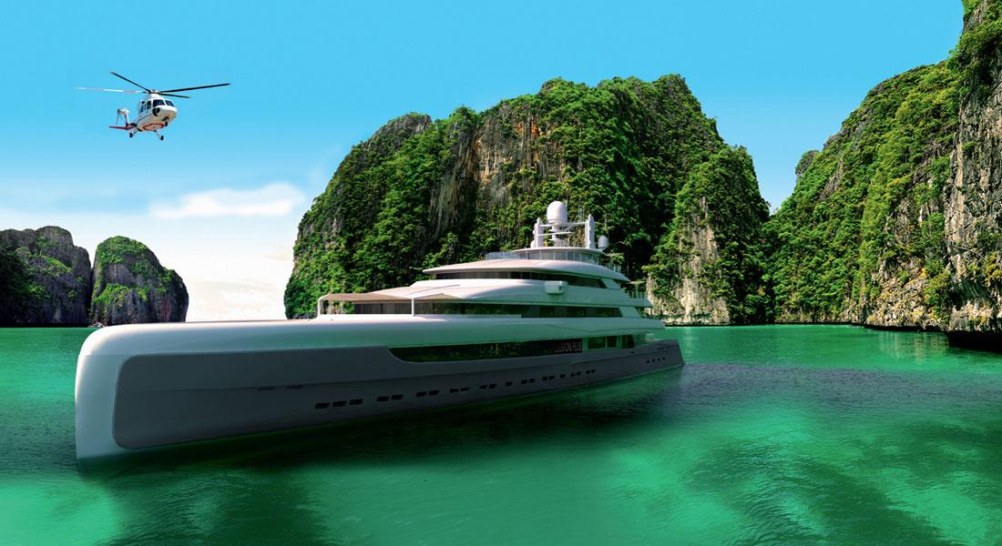 Illusion Plus superyacht Pride Mega Yachts