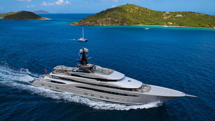Kismet Shahid Khan superyachts of Super Bowl contenders