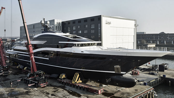 Project Shark Oceanco Y717 megayacht