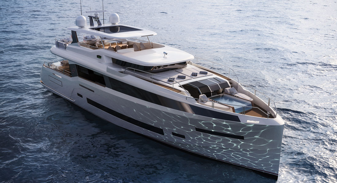 Sirena 85 superyacht