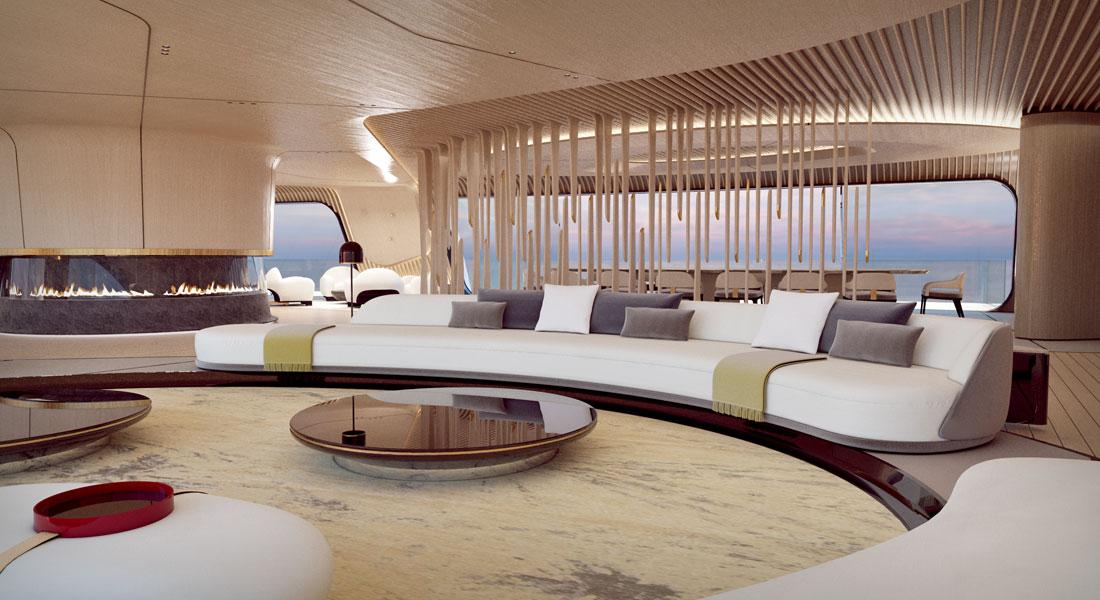 Tuhura superyacht concept Oceanco