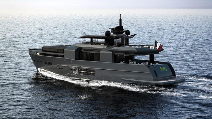 Arcadia A105 megayacht
