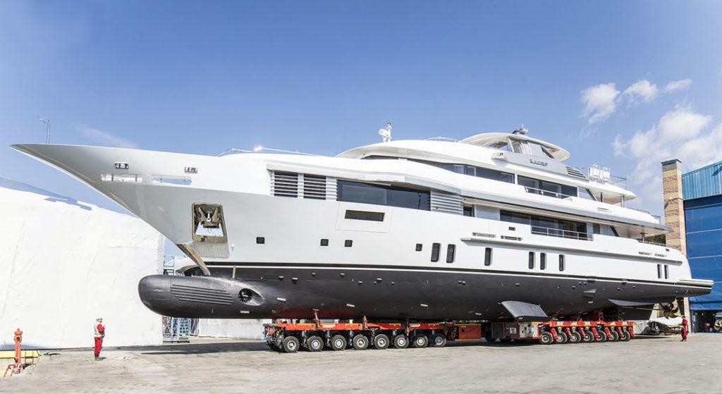Benetti Elaldrea+ megayacht launch