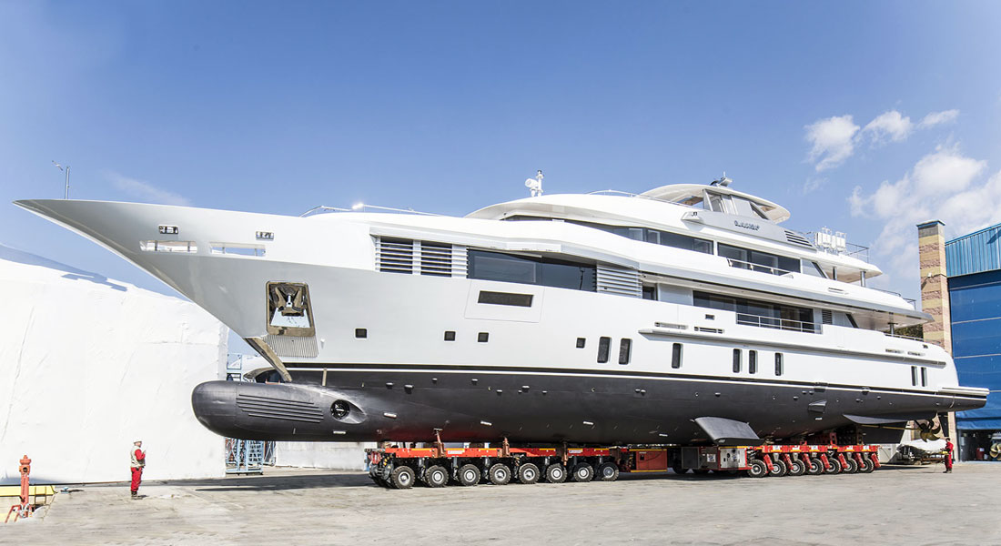 Benetti Elaldrea+ megayacht launch