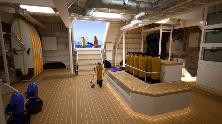 Damen Yacht Support megayacht Power Play