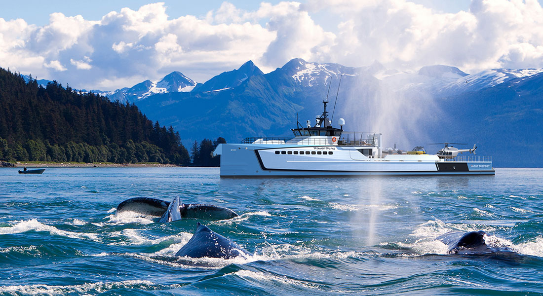 Damen Yacht Support Vessel megayacht Power Play