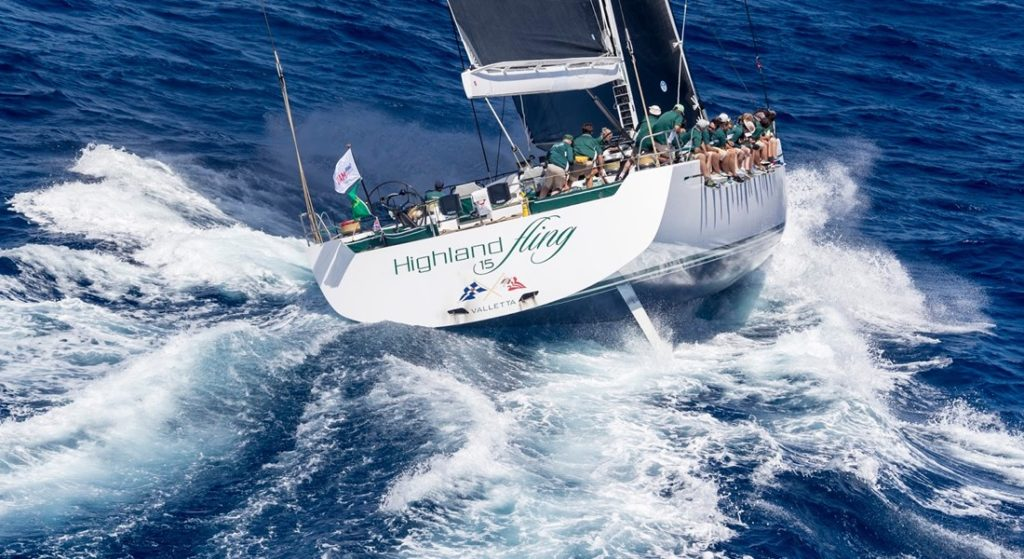 Highland Fling superyacht cup palma