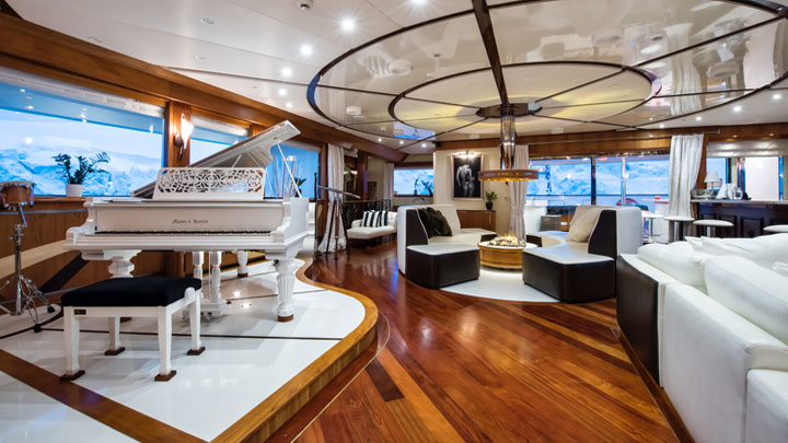 megayacht Legend single cabin Antarctica charter EYOS Expeditions