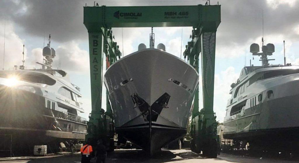 lauderdale marine center megayachts benetti americas