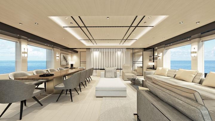 NedXplor 38 megayacht interior