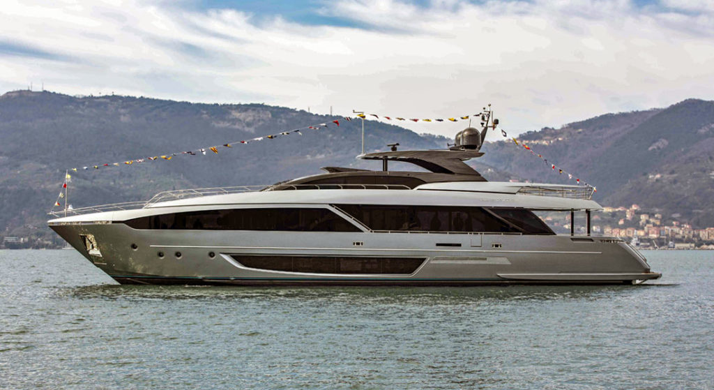 Riva 110 Dolcevita megayacht launch small superyacht world premieres