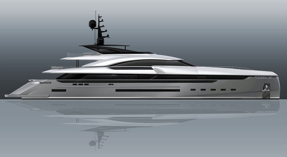 Rossinavi megayacht Vector 50