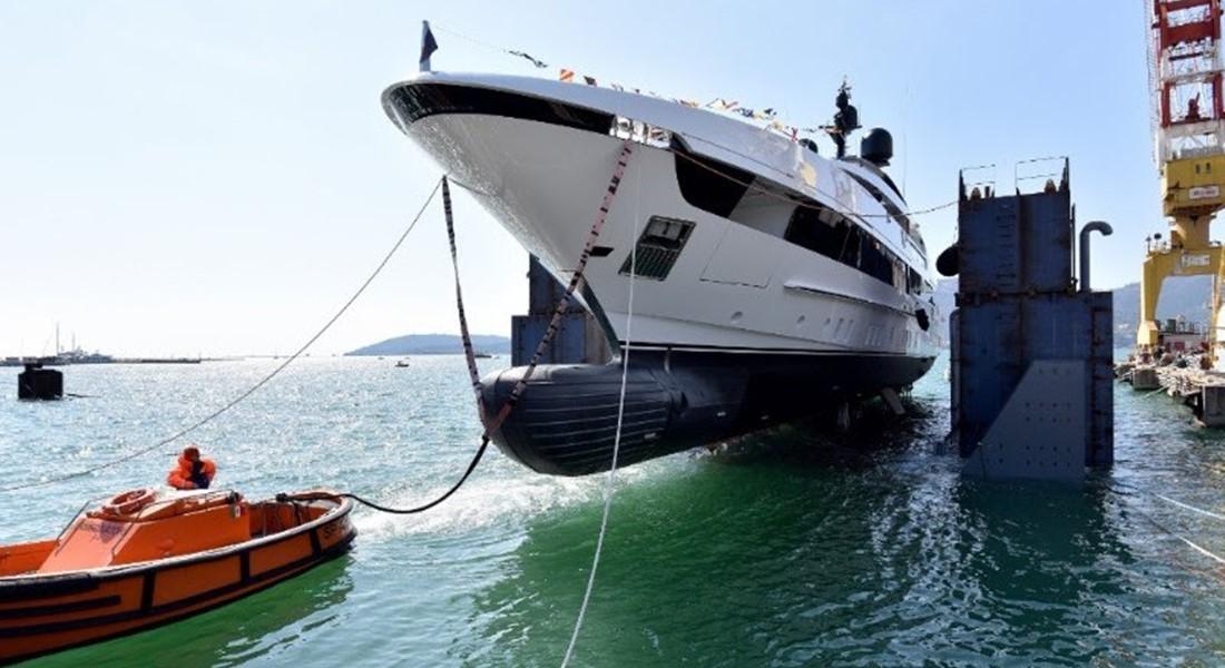 KD Sanlorenzo 52 Steel megayacht hull 2