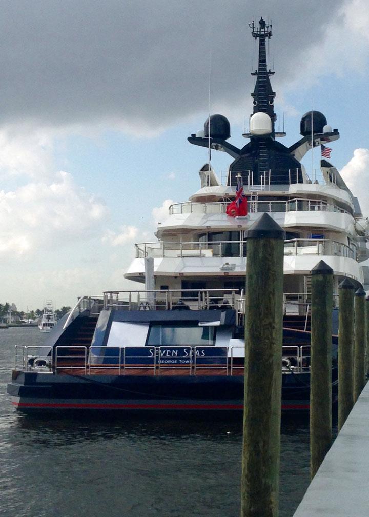 Steven Spielberg Seven Seas superyachts tied to Oscar winners