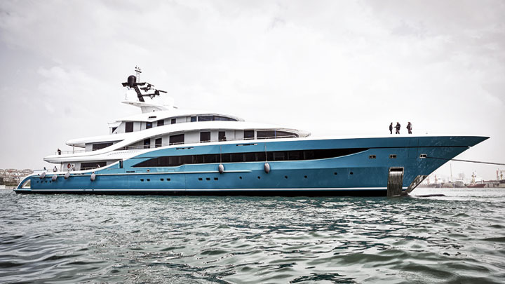Turquoise Yachts superyacht Go launch
