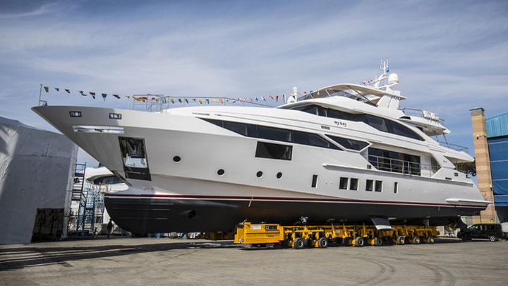 Benetti Fast 125 megayacht My Way hull five