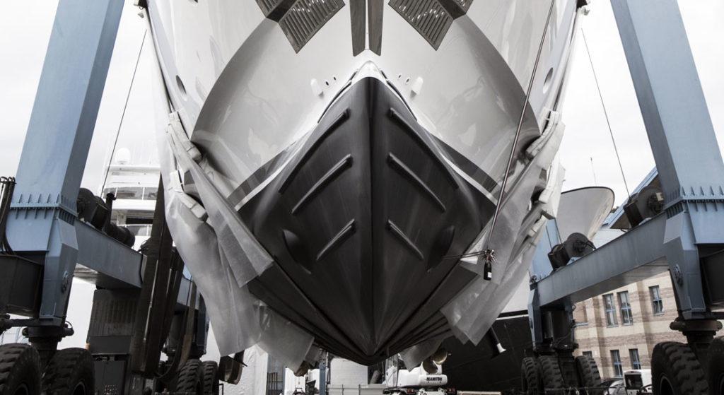 Benetti Fast 125 megayacht hull six Charade