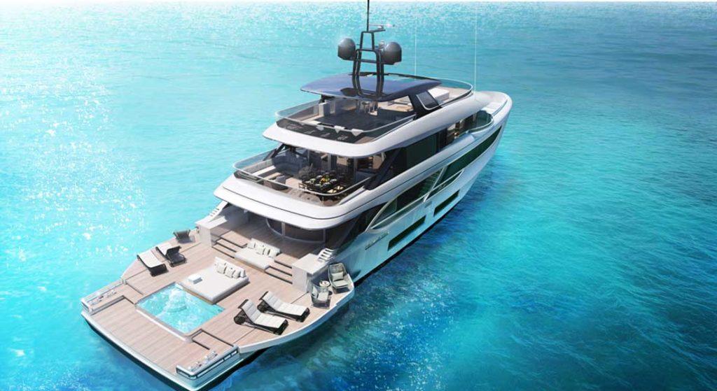 Benetti Oasis 135 megayacht