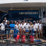 Feadship Archimedes megayacht International SeaKeepers Society