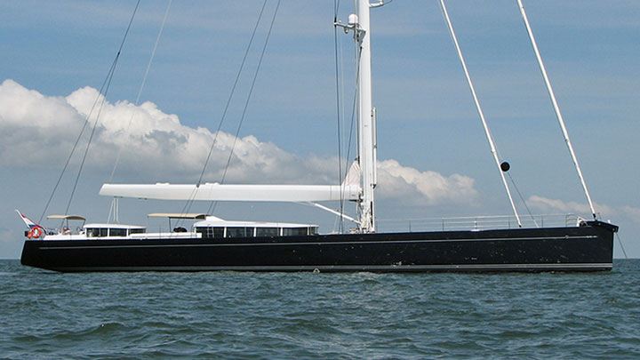 G2 sailing superyacht as Cinderella IV before refit