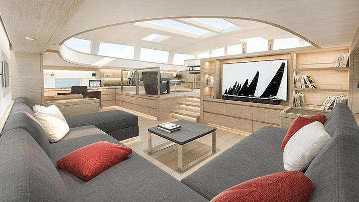G2 sailing superyacht redesigned interior by Nauta Design