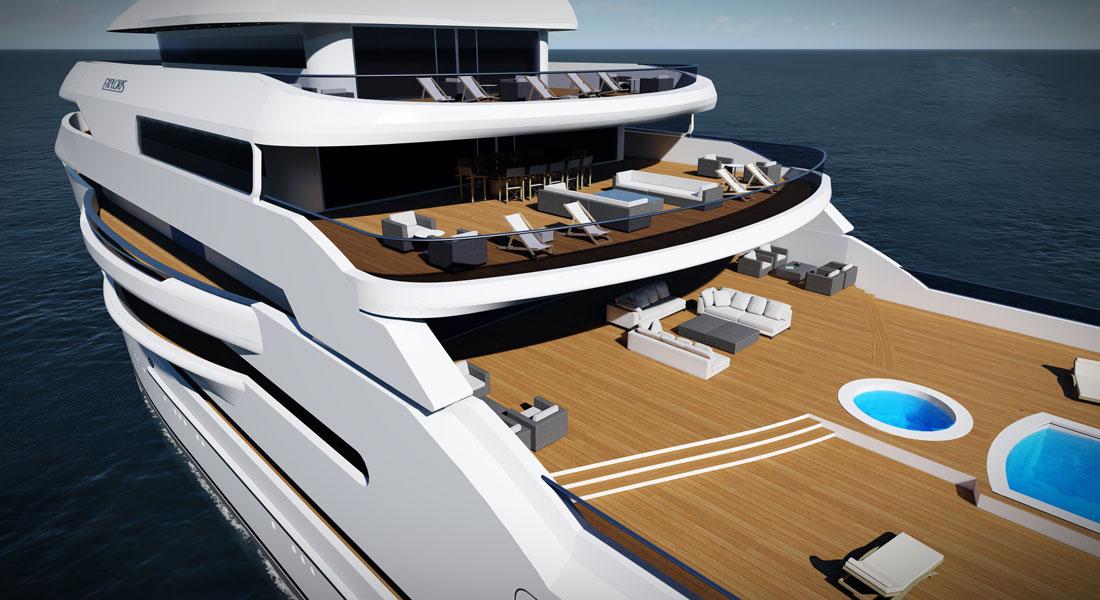Gresham Yacht Design Exploris megayacht concept