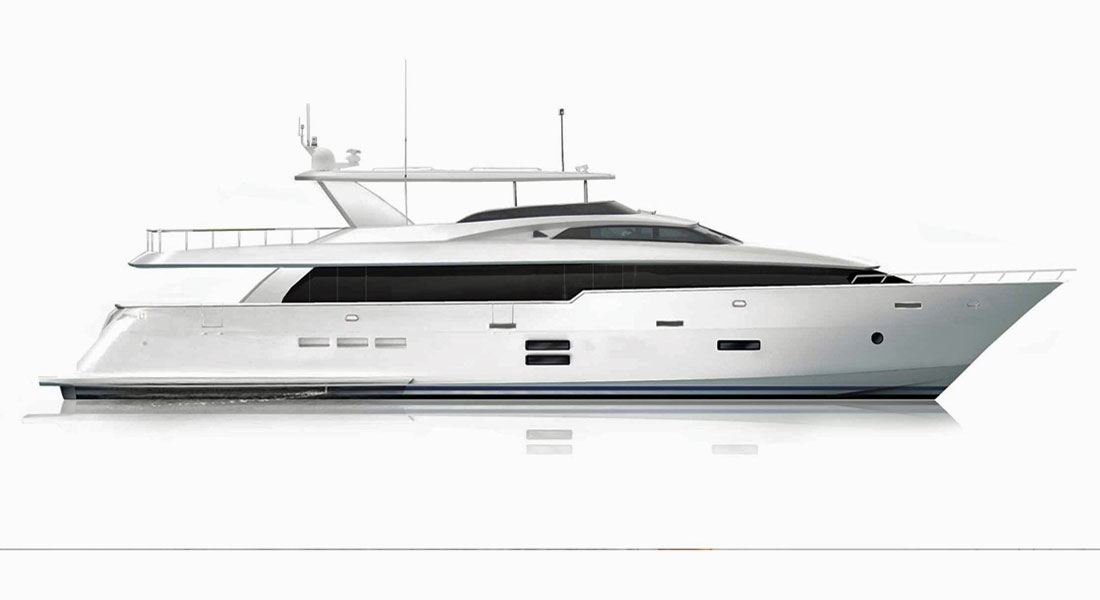 Hatteras 105 Raised Pilothouse megayacht